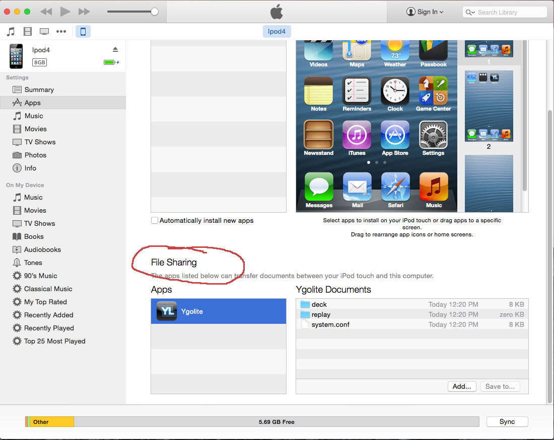 Add pics to Ygolite on iPhone, iPad, and iPod touch